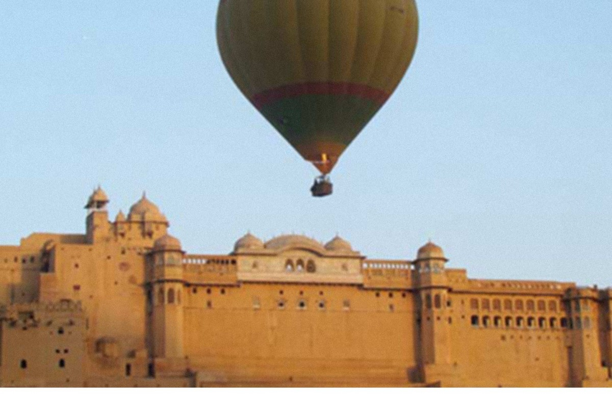 http://m.thegreatnext.com/Hot Air Ballooning Balloon Ride Jaipur Rajasthan Adventure The Great Next