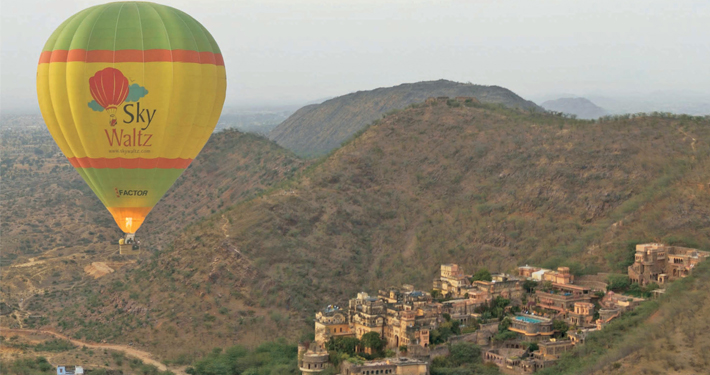 http://www.thegreatnext.com/Hot Air Balloon Neemrana Adventure Activity Safari Rajasthan