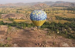 Hot air ballooning in Ranthambore