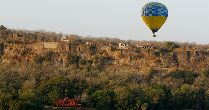 http://www.thegreatnext.com/Hot Air Balloon Ranthambore Adventure Activity Safari Rajasthan