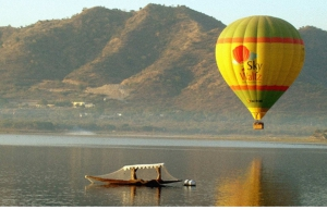 Hot air ballooning in Udaipur
