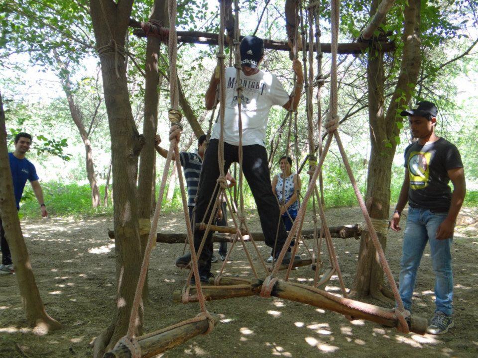 http://m.thegreatnext.com/Camping Adventure Family Fun Rock Climbing Rappelling Delhi Dhauj