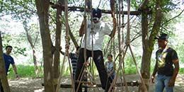 http://www.thegreatnext.com/Camping Adventure Family Fun Rock Climbing Rappelling Delhi Dhauj