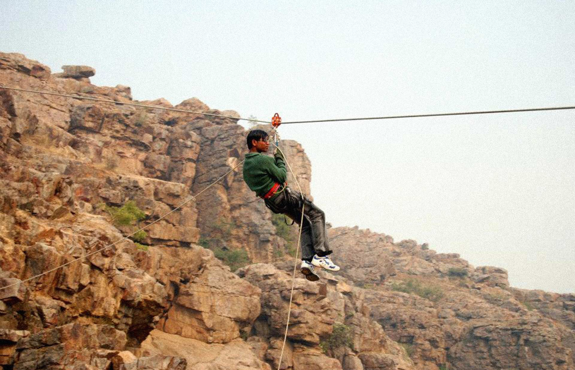 http://www.thegreatnext.com/Camping Adventure Family Fun Rock Climbing Rappelling Delhi Dhauj