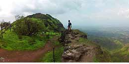 http://www.thegreatnext.com/Peb-Vikatgad Fort Trek Maharashtra Monsoon Trek Sahyadri Forests