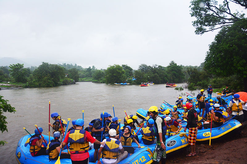http://m.thegreatnext.com/Kolad Rafting and Bungalow Camp Maharashtra Kundalika River Adventure Activity Sports