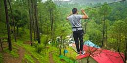 http://m.thegreatnext.com/Camping Kangojodi Himachal Pradesh Shimla Nature Adventure Rope Activities Fun