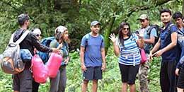http://www.thegreatnext.com/Dudhsagar Waterfall Trek Karnataka Goa Trekking Adventure Activity Camping Nature