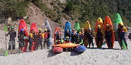 http://www.thegreatnext.com/Beginners Kayaking Course Uttarakhand Rishikesh Ganga Adventure Activity Water Sport Fun