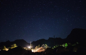Camping and stargazing at Dehne
