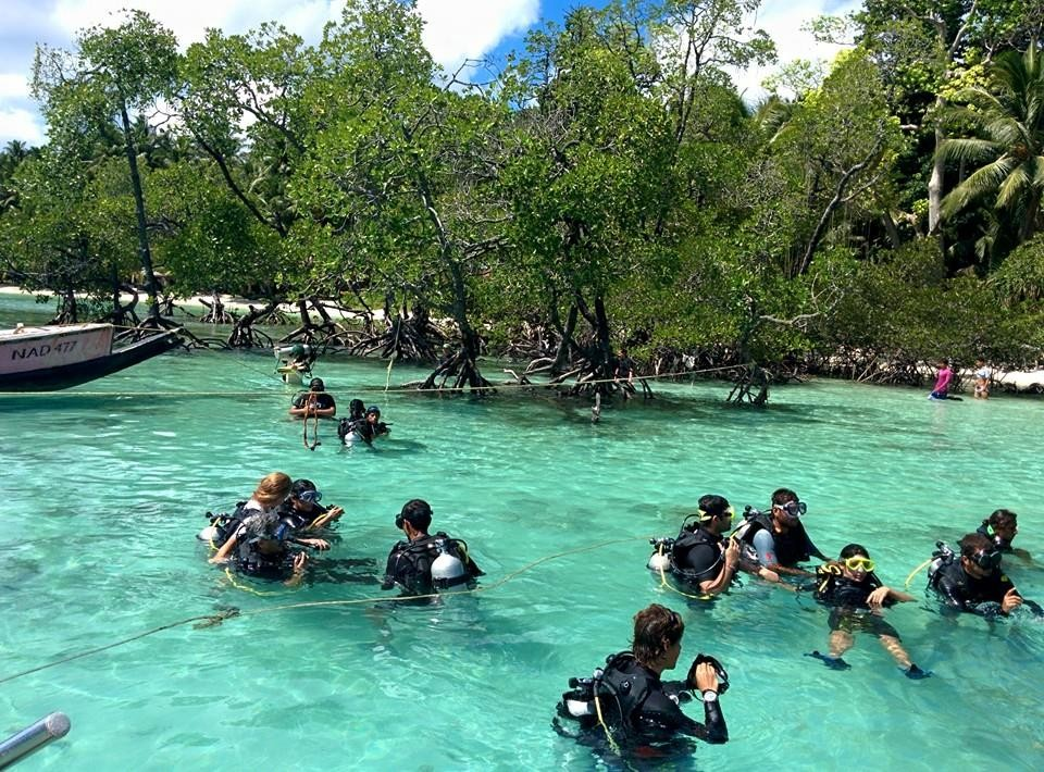 http://m.thegreatnext.com/Andaman Islands Scuba Diving Adventure PADI Open Water Diver OWD Course Havelock