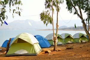 New Year's Lakeside Camping at Pavna Lake
