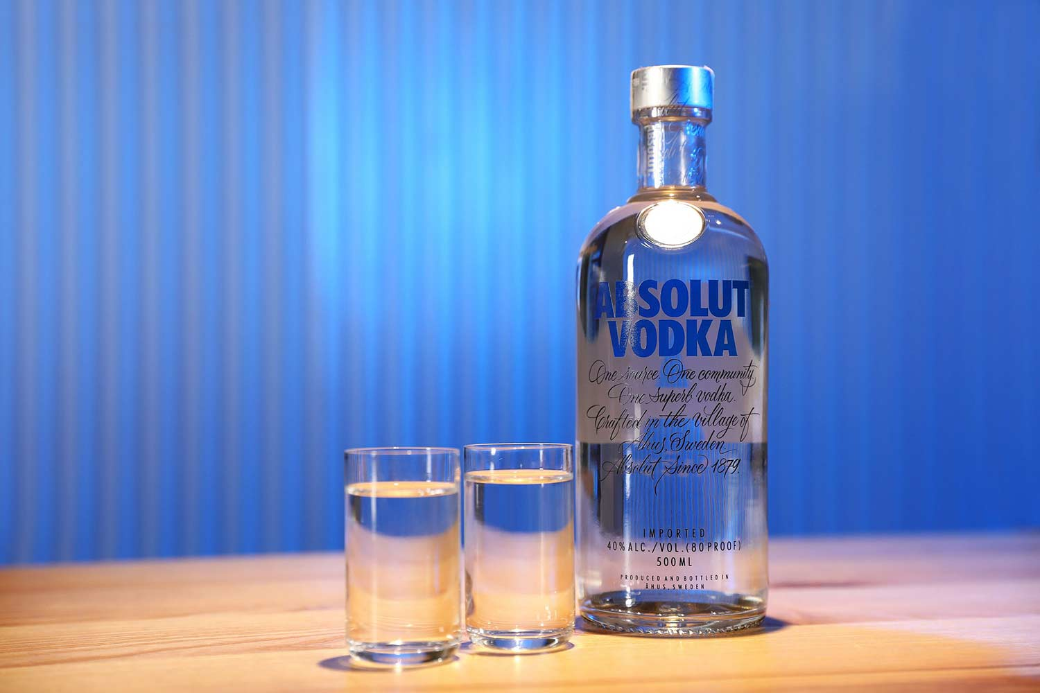 Drinking Vodka the Russian way