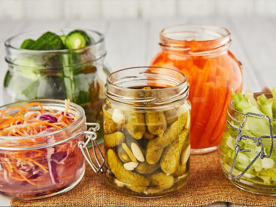 Vinegar or Quick Pickles