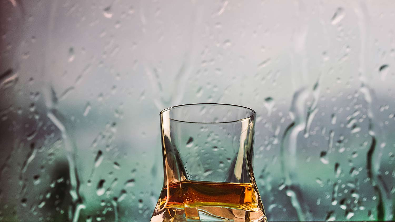 Share a bottle with your friends on a rainy day
