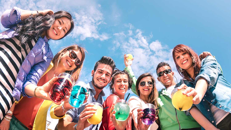 Transform your beach trip into a party