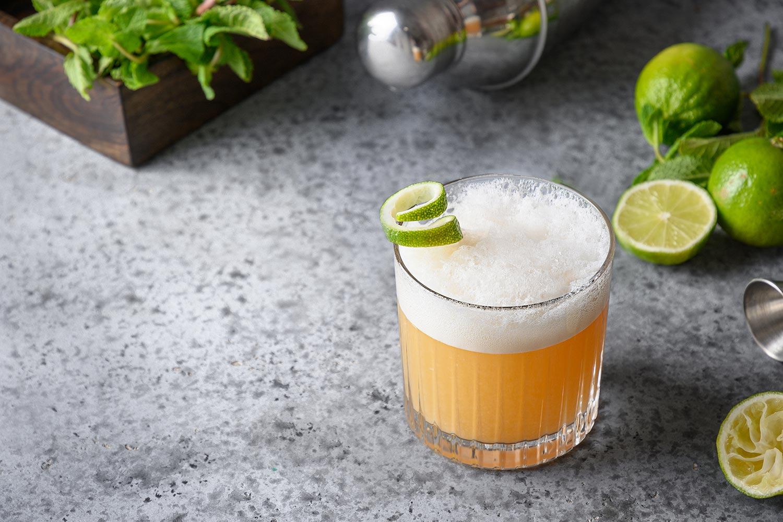 Blended Whisky Sour