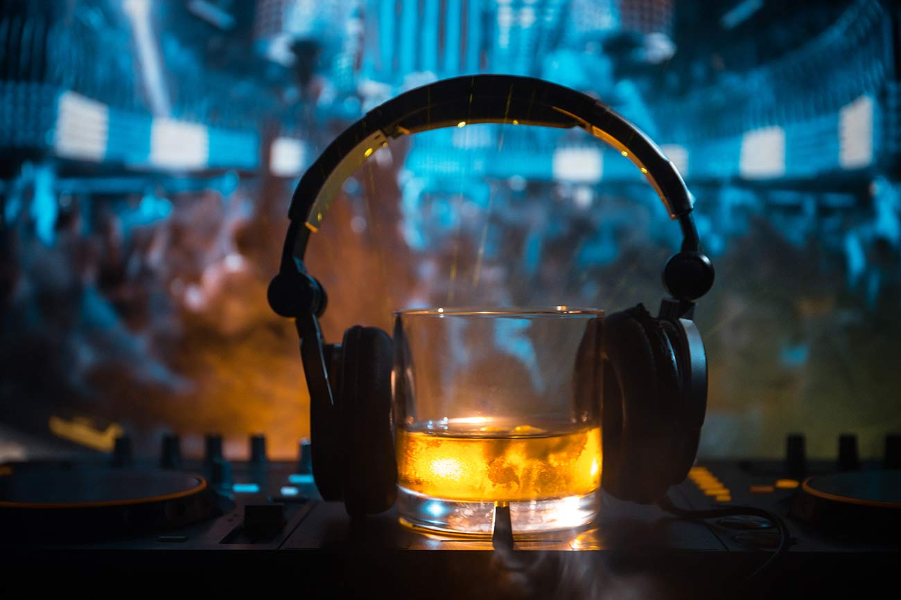 Pairing whisky and music