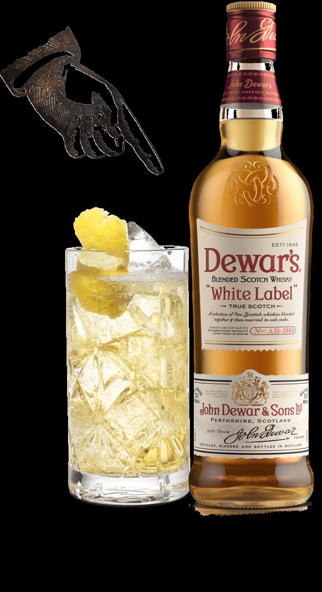 Dewar's Whisky Label