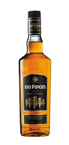 100 Pipers Deluxe Blended Whisky