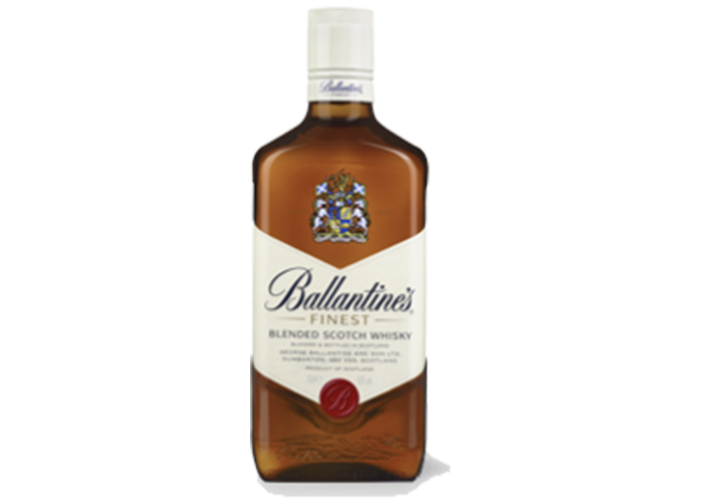 Ballantines finest for whisky sour cocktail