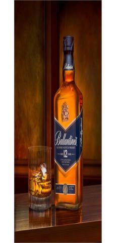 Ballantine's 12-year-old scotch