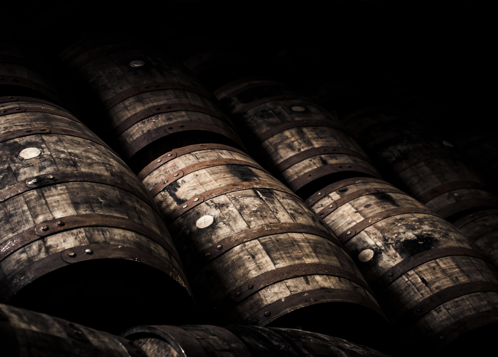 Whisky ageing process