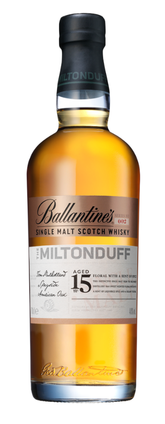 Ballantines 15 Miltonduff