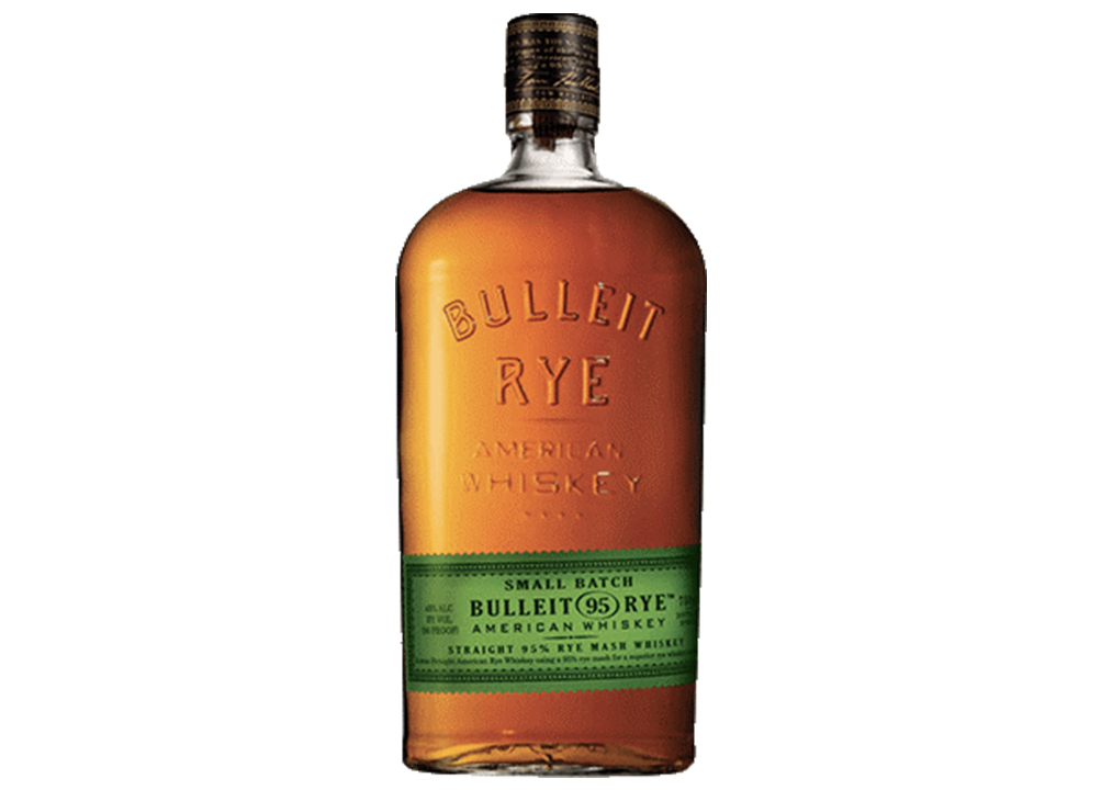 Bulleit rye whisky for cocktails