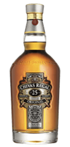 Chivas Regal 25-yr-old Scotch