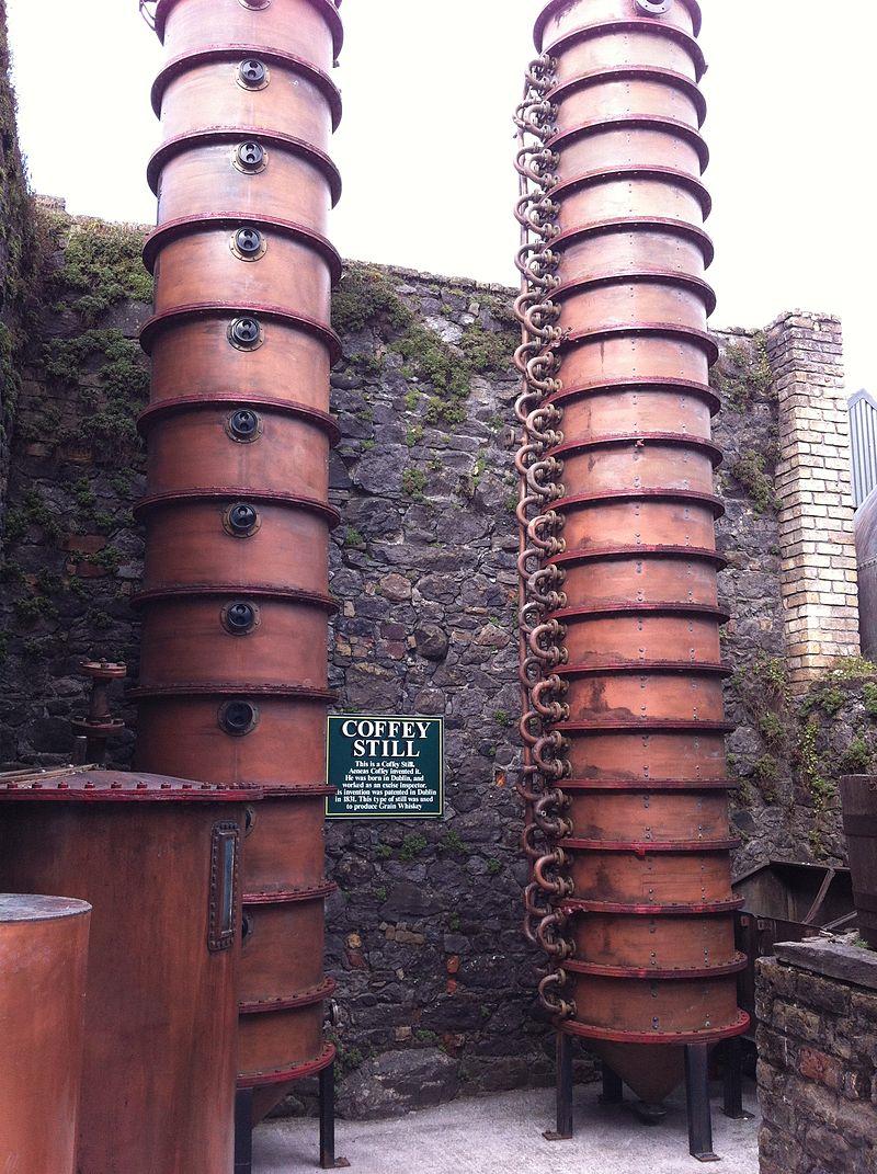 Coffey Stills at the Kilbeggan Distillery