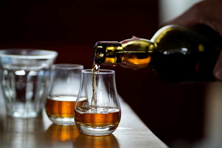 Whisky and Wine