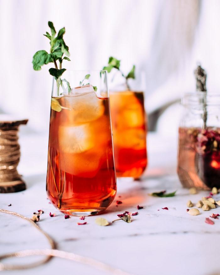 Spiked Iced Tea Whisky Cocktail