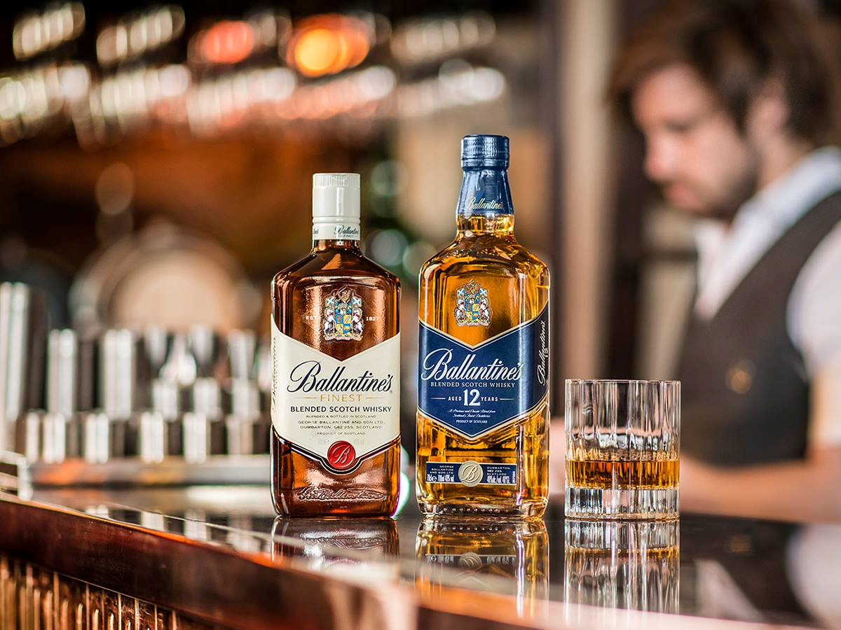 Ballantines Blended Scotch Whisky