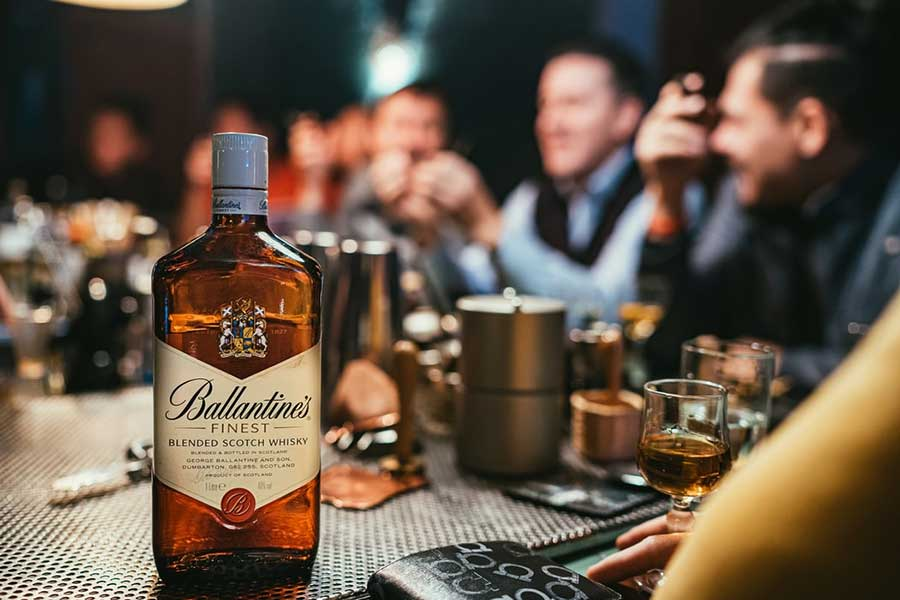 Ballantines Blended Scotch