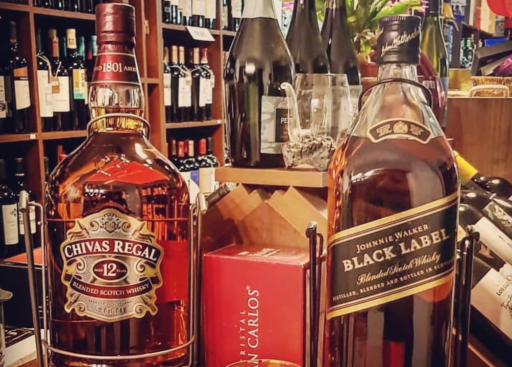 Chivas Regal  Black Label  Whisky Comparison