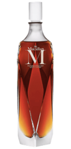 Macallan M scotch whisky