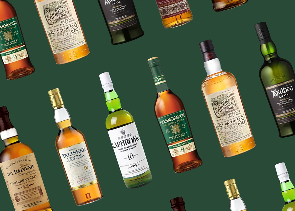 Oldest scotch whisky brands