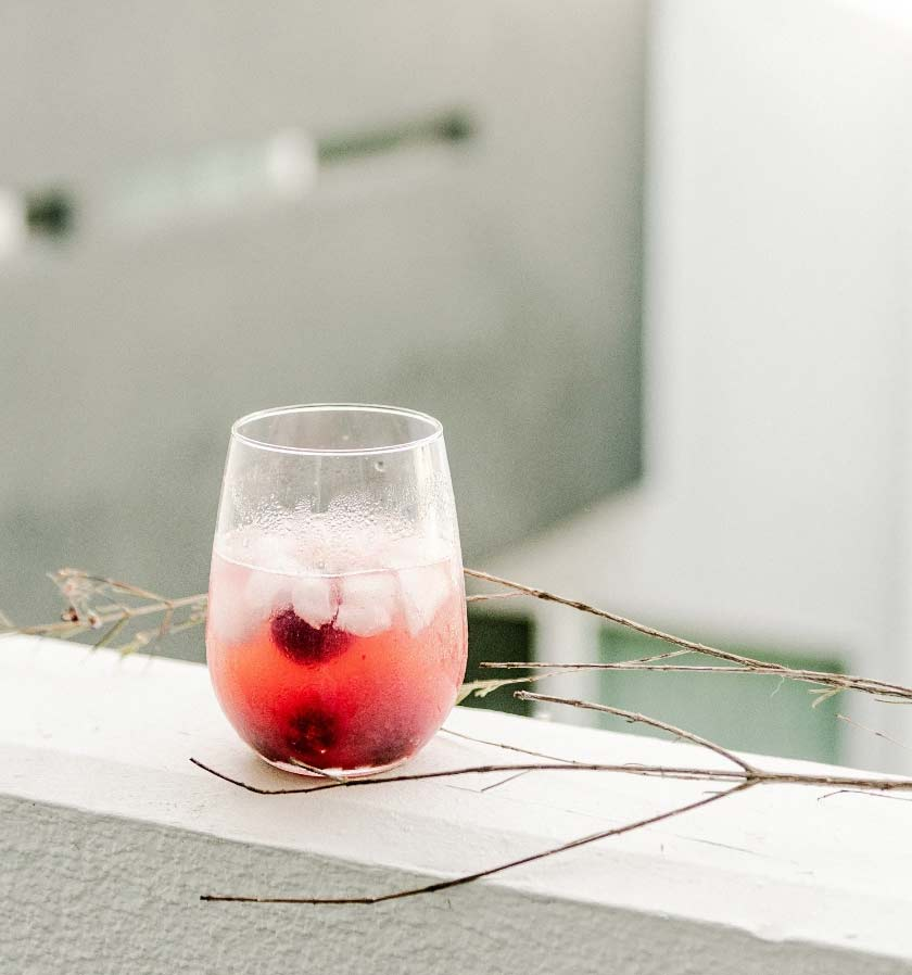 Whisky Litchi Cocktail Punch