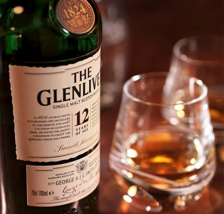 The Glenlivet 12 Years Single Malt Scotch