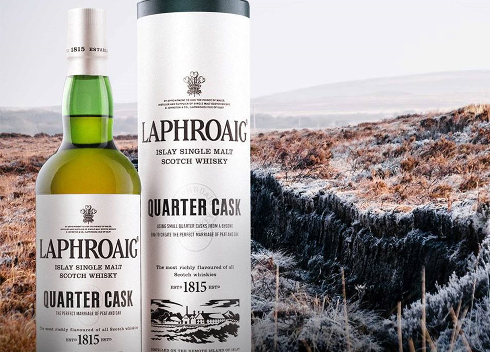 laphroaig single malt scotch whisky from islay