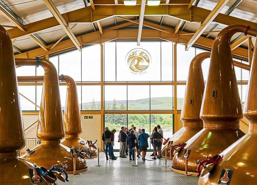 Whisky Making Copper Stills