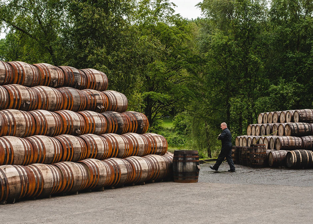 Bladnoch Scotch Barrels