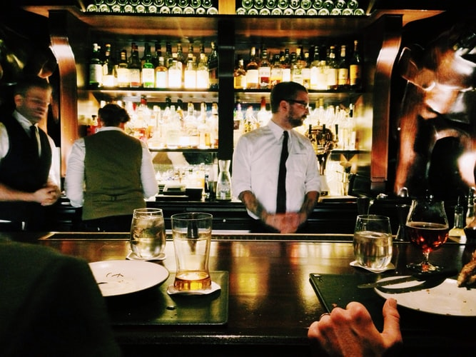 Not Trusting Bartender