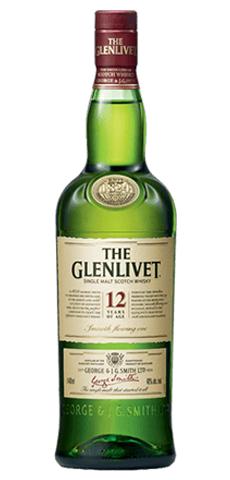 The Glenlivet 12-yr-old Single Malt Scotch