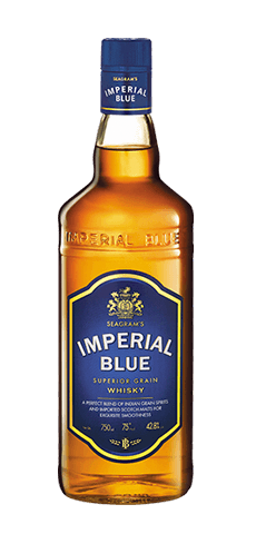 Imperial Blue Indian Whisky