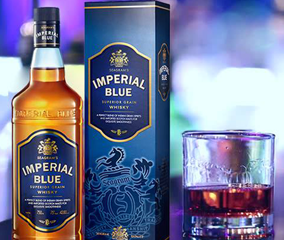 Imperial Blue Superior Grain Whisky