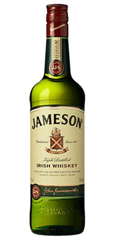 Jameson 12-yr-old Irish whiskey