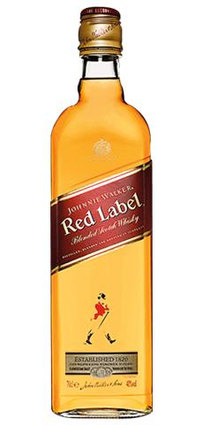 Red Label Scotch Whiskey