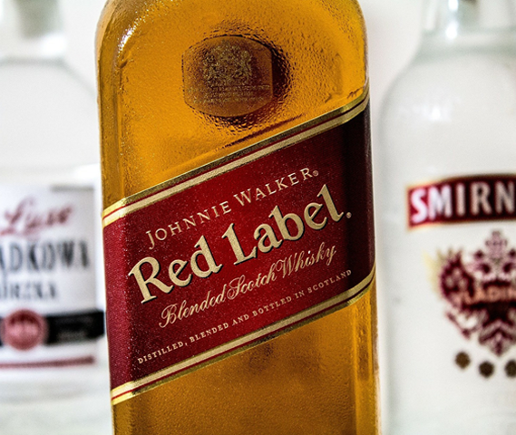 Red Label Whisky by Johnnie Walker